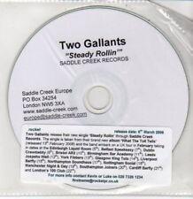 (DD469) Two Gallants, Steady Rollin' - 2006 DJ CD