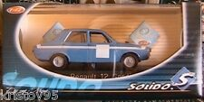 RENAULT 12 GORDINI RACING SOLIDO 1858 SCALE 1/43 NEW
