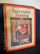 NEW Successful Farming Magazine Tin w/Matching Puzzle Depicts 12/1929 Cover NEAT