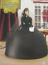 Annie's Attic Southern Belle Fashion Bed Doll Crochet Pattern In Mourning