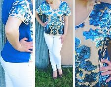 Ladies Neiman Marcus sequin Shirt Blouse Size X-small XS $79.99 Cruise Holiday