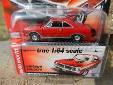 2016 AUTO WORLD 1:64 *PREMIUM 5A* Red 1971 Dodge Dart Swinger *NIP!*