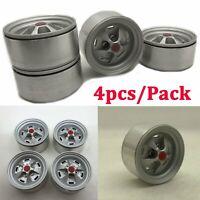 1/10 CNC Metal Beadlock Wheel Rim Set for Axial SCX10 II 90046 Traxxas TRX4 D90