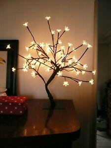 Cherry Blossom Led Fairy Light Bonsai Twig Tree