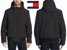Tommy Hilfiger Mens Black Winter Soft Shell Insulted...