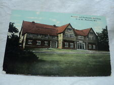 MADISON WI University of Wisconsin Animal & Husbandry Building early Postcard