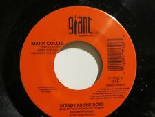 MARK COLLIE STEADY AS SHE GOES / MEMORIES - GIANT 45 RPM # 17762 NEAR MINT 1995