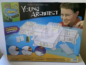 NEW Slinky Brand Experiment #150: Young Architect 3D Building Model 08701 NIB