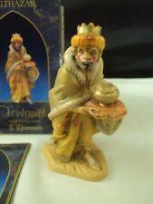 Vintage Fontanini Balthazar Wiseman Heirloom Nativity Collection #72516 ItalyA11
