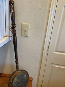 RARE 18 TH CENTURY STRATFORD SHAKESPEARS HOUSE ON AVON BED WARMER HANDLE