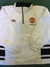 Manchester United Treble Season Worn FA Cup Final Training Jacket