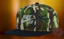 New Nike SB Woodland Camo Mens Snapback Cap Hat