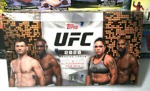 2020 Topps UFC MMA Hobby Box 24-packs Sealed