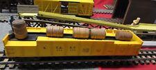 Vintage Lionel Yellow Barrel O Gauge Car #3562 With Barrels