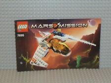 LEGO® Mars Mission Bauanleitung 7695 MX-11 Astro Fighter gelocht B2613