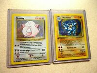 1995,96,98 POKEMON HOLOFOIL LOT 1ST EDITION CHANSEY AND MACHAMP NICE CONDITION