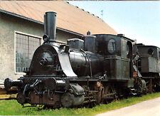"AK, Viechtach, Dampflok ""Anna"" der Regentalbahn AG im Bhf. Viechtach, um 1977"