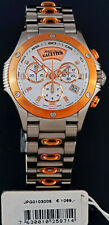 Jean Paul Gaultier Chrono Uhr Neu UVP*1099,- € JGW0103006 rotgold silber bicolor