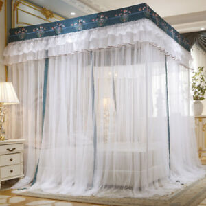 mosquito net single netting for bed dust proof bed canopy stainless steel tubes