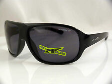 ARNETTE ALTER EGO UNISEX SUNGLASSES BLACK POLARIZED NEW