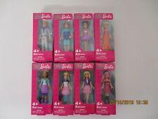 Mega Bloks Barbie 80260 8 verschiedene Minifiguren / Set of 8 minifigures Neu