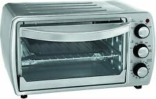 OSTER 6 Slice Convection Toaster Oven for Counter Top w/Broil Rack TSSTTVCG02
