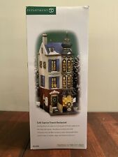"""Dept 56 Christmas In The City """"Café Caprice French Restaurant� New!"""