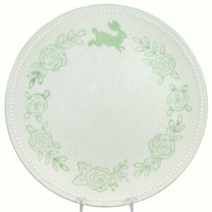 """Target Threshold BEADED BUNNY RABBIT - GREEN 10.5"""" Dinner Plate Easter Flower"""
