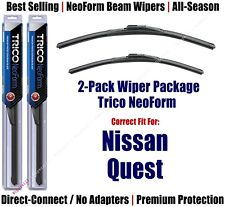 2pk Super-Premium NeoForm Wipers fit 2011-2017 Nissan Quest 16260/190