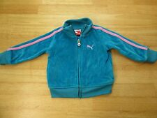 PUMA GIRLS  Pink Blue  JACKET  SIZE 12M