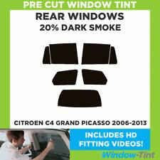 CITROEN C4 Grand Picasso 2006-2013 20% Foncé Arrière pré cut fenêtre teinte