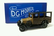 OO 1/76 4mm 1930 FORD WOODY WAGON METAL MODEL HAND MADE UK