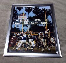 Johnny Unitas Colts Framed 8x10  Photo Super Bowl Action