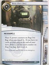 Android Netrunner LCG - 1x #064 Bug Out Bag - Blood and Water