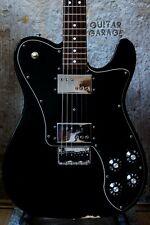 Fender Telecaster 72 Deluxe Wide Range Humbucker Black guitar - Japan neck