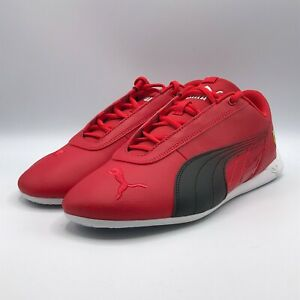 Puma Mens 9 Scuderia Ferrari R-Cat Motorsport Sneakers Shoes Red Black 306768-02