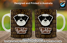 Tibetan Terrier Hipster Dog Cute Cool Creative Tea Coffee Mug Christmas gift