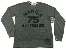Roots Of Fight Ali Frazier Manilla Pullover Triblend Sweatshirt Men's Small-2XL