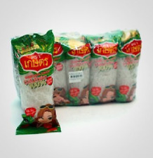 Kaset Brand Thai Bean Thread Glass Noodles - 1.4 Oz X10 Sachets (Big Pack)