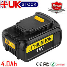 For Dewalt  DCB184 DCB182 XR 4.0Ah Lithium DCD785 DCF885 18V/20V Battery DCB181