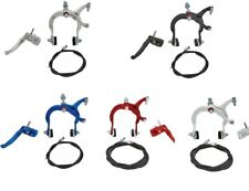 Alloy MX Old School BMX Brake Set Front or Rear Caliper Lever Cable Bikes
