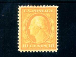 USAstamps Unused FVF US 1908 Washington Scott 338 OG MLH