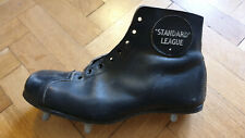 Soccer English Football Standard League Vintage Leather Shoe.