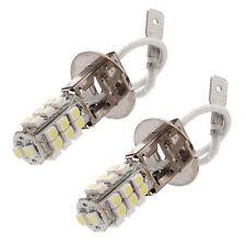 2 X Auto H3 26 SMD 3528 LED xeno bianco faro fendinebbia lampadina 12V 3W HK