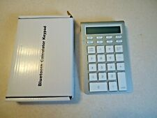 Bluetooth Wireless Calculator 12 Digit Keypad Works with Windows and iOS/Macs