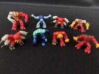 Gormiti Figures Lot of 8 Monsters