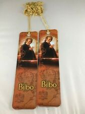 Lord of the Rings Bilbo Baggins Bookmark with One Ring SET OF 2