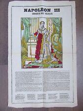 GRANDE IMAGE EPINAL 1880 NAPOLEON III EMPEREUR DES FRANÇAIS