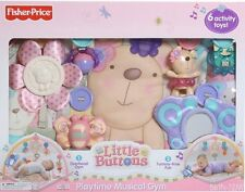 FISHER PRICE LITTLE BUTTONS PLAYTIME MUSICAL GYM R4748 *NEW*