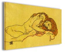 Quadro moderno Egon Schiele vol XXXII stampa su tela canvas pittori famosi